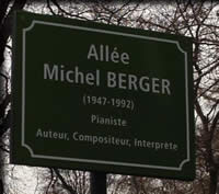 Allée Michel Berger, France Gall